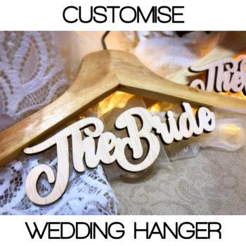 Customised Wedding Hanger